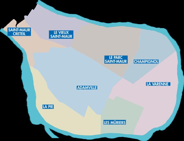 quartiers-Saint-Maur-Des-Fossés