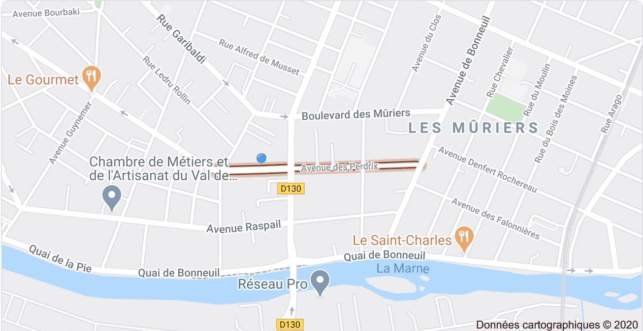 Estimation immobilière - Avenue des Perdrix- Saint Maur Des Fossés