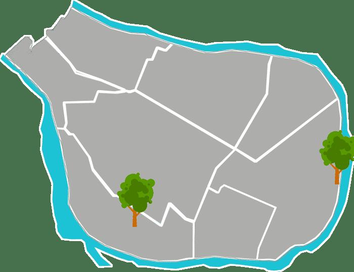 Les quartiers de saint maur des fossés