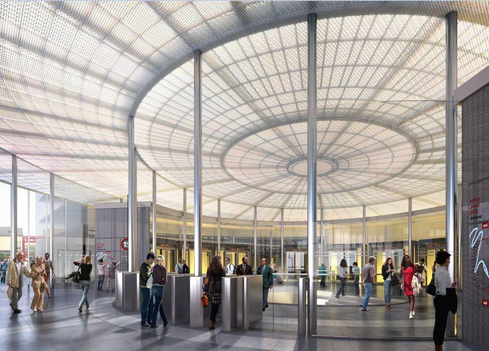 future gare du grand paris- Saint Maur Creteil