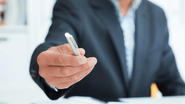 mandat exclusif - signature du mandat exclusif